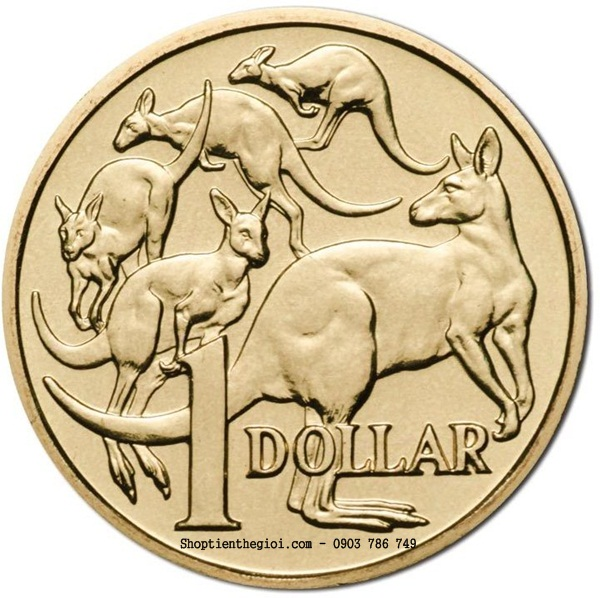 Xu Australia 1 Dollar 1985-1998  -  SP002248
